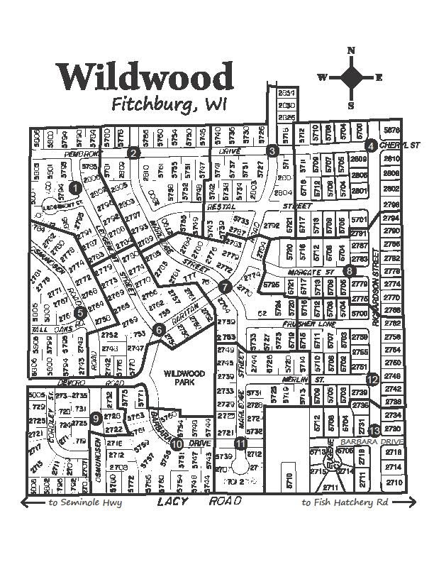 Wildwood Map 01-01-2010